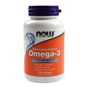 Now Omega-3, 1000 mg - 100 Softgels
