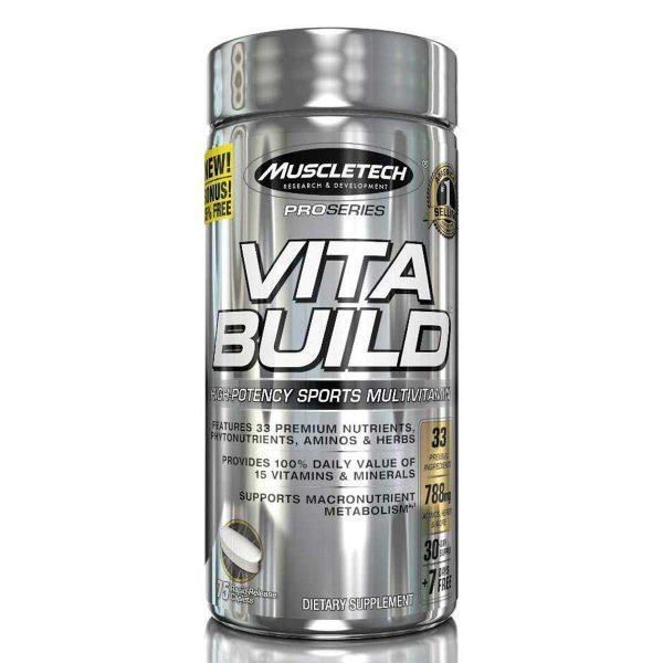 Muscletech Vita Build - 75 capsules
