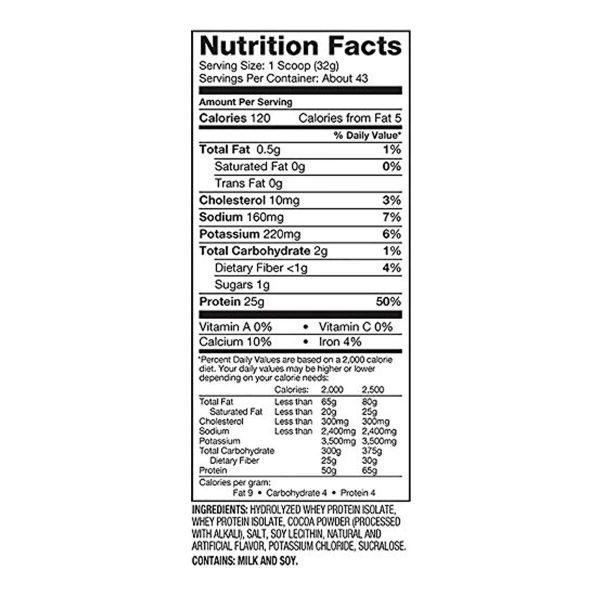 Dymatize Iso 100 Protein - 3 lb