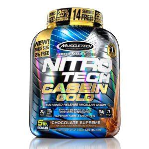 Muscletech Nitrotech Casein Gold - 5 Lbs