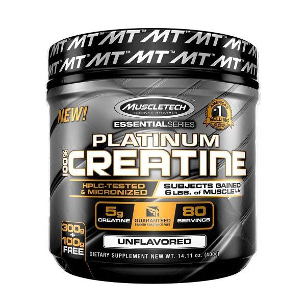 Muscletech Platinum 100% Creatine - 400gm